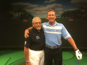 Dr. Nick Molinaro and Michael Breed